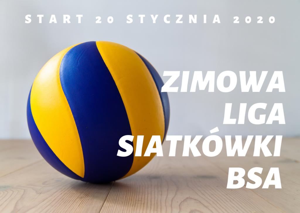 Zimowa Liga Siatkówki BSA 2020