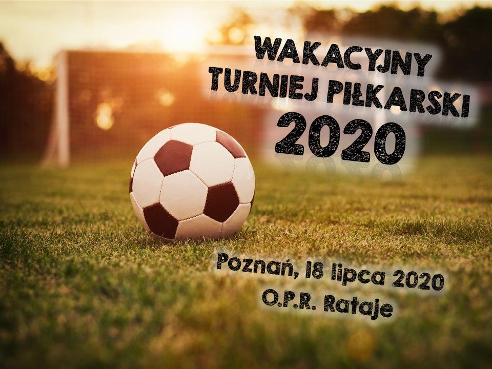 Wakacyjny Turniej Piłkarski 2020