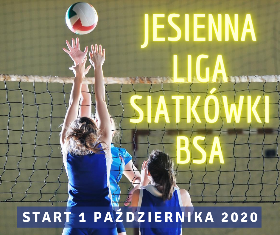 Jesienna Liga Siatkówki BSA 2020
