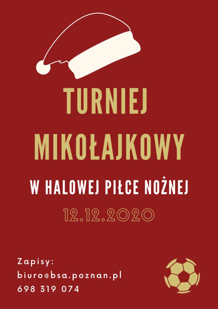 Cykliczny Turniej Piłkarski organizowany na Św. Mikołaja