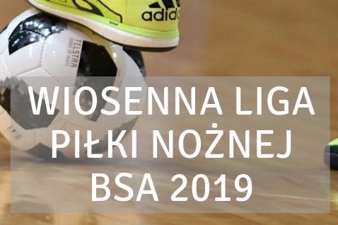 Wopsenna Liga Piłki Nożnej BSA 2019